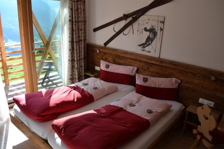 camera da letto Agritur Weiss
